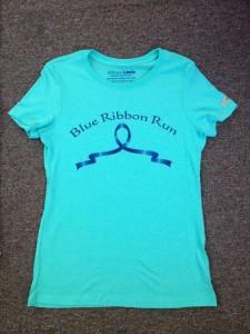 Blue Ribbon Run Shirt