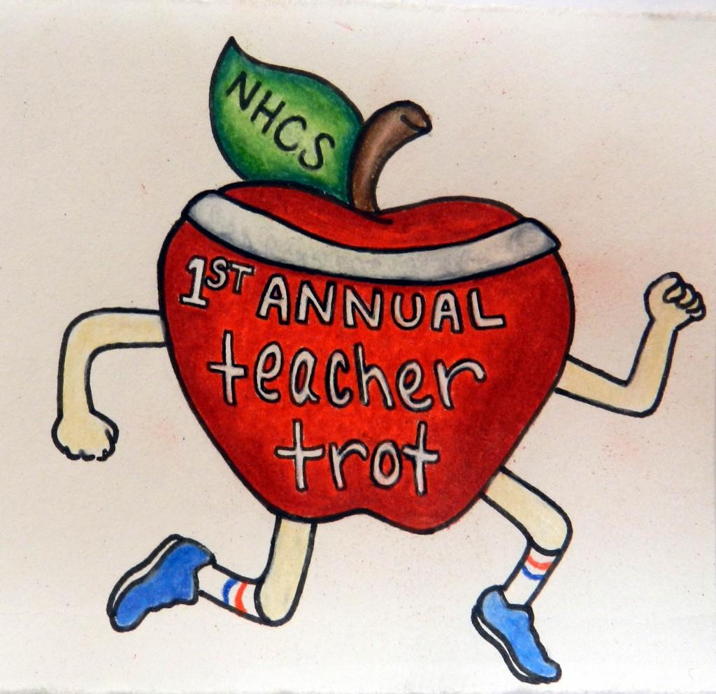 NHCS Teacher Trot Logo