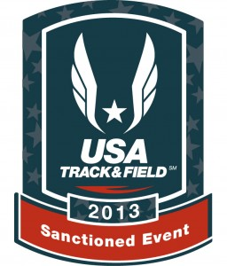 Sanctioned by the USATF