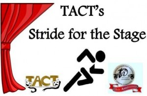 Stride for the Stage logo