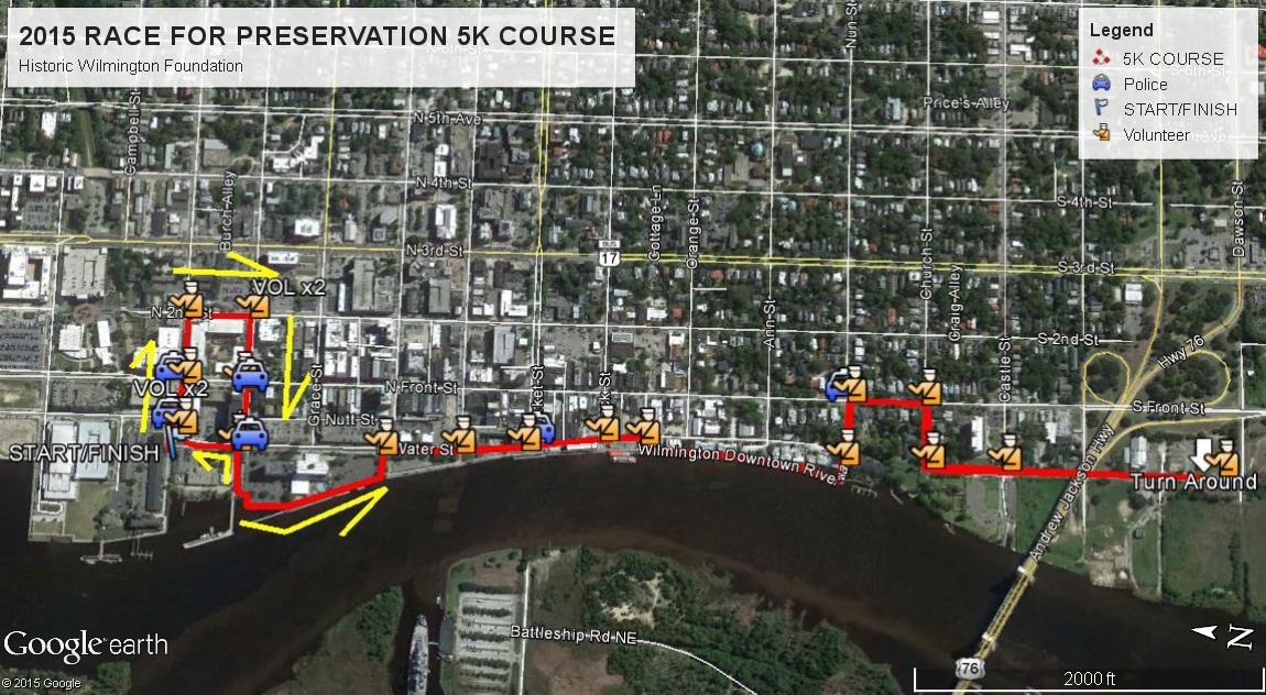 2015 HWF Race for Preservation FINAL MAP