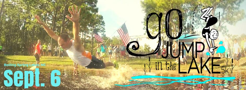 Go! Jump in the Lake 5K, 10K, & Fun Run, Sept. 6