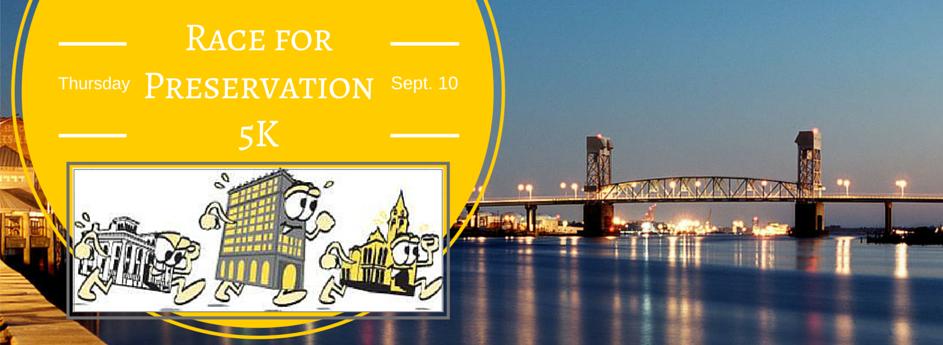 Race for Preservation 5K, Sept. 10, 2015