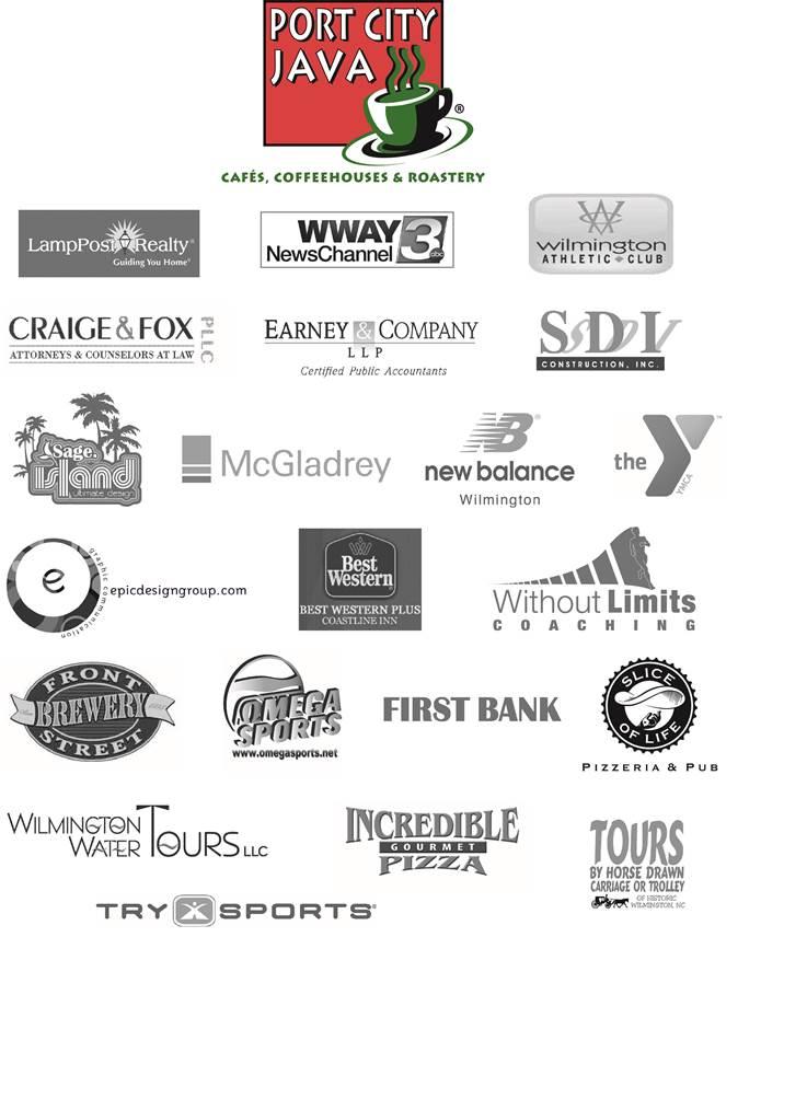 Race for Preservation Sponsor Logos 2013