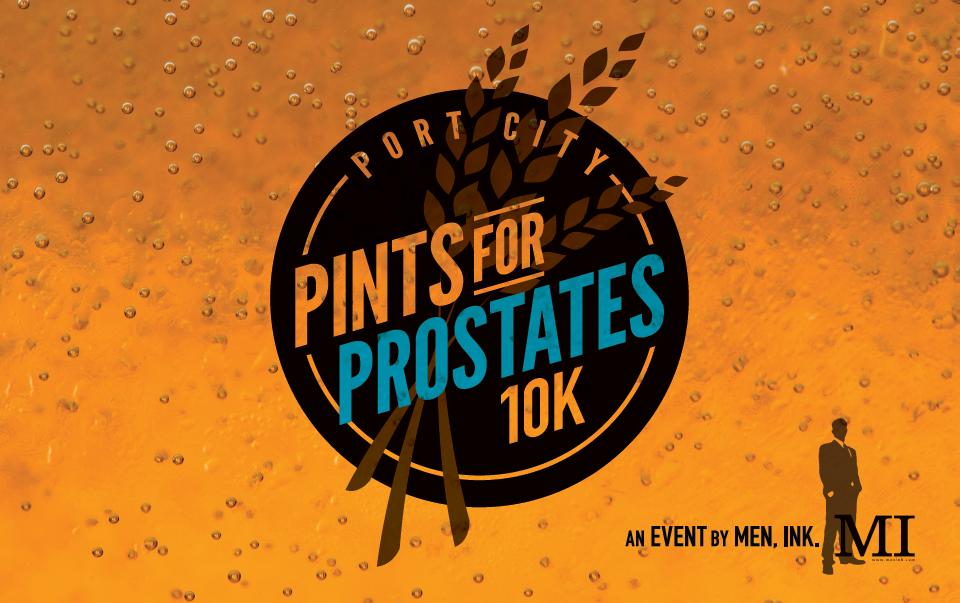 Pints for Prostate Logo
