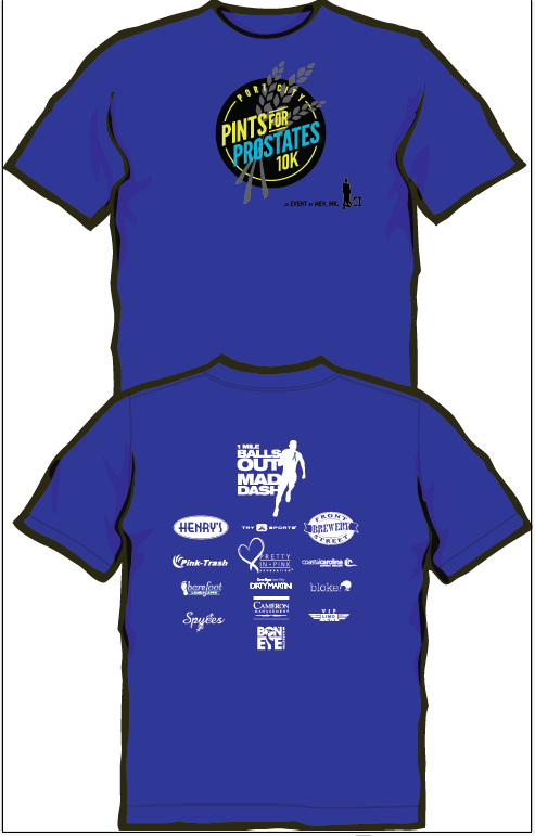 Pints for Prostate Shirt