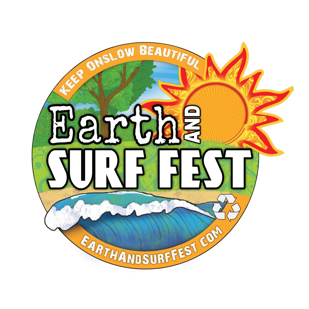 Earth and Surf Fest Logo