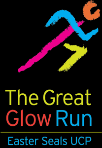 Updated Great Glow Run logo
