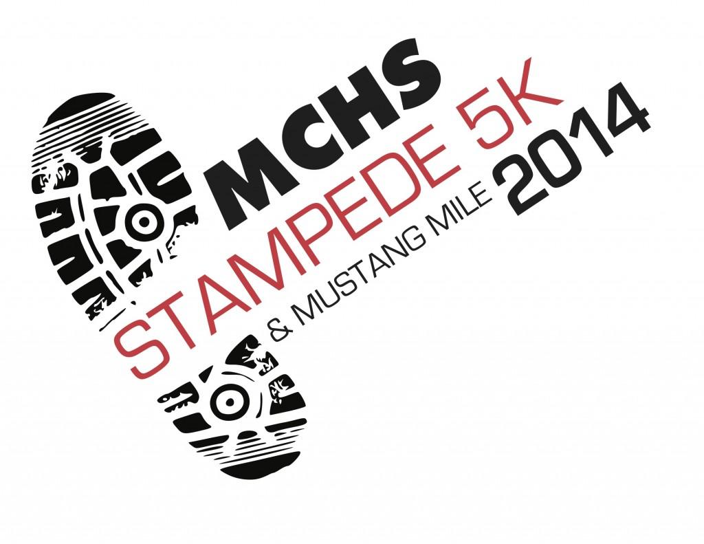 Stampede 5K Logo
