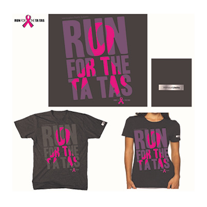 Without Limits Run for the Ta Tas Tees