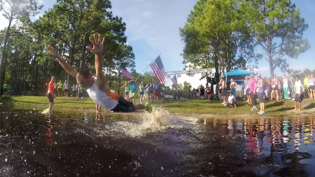 Jump n the lake