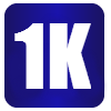 1K Distance Icon