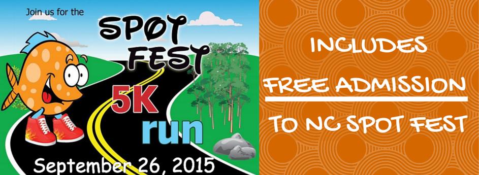 Spot Fest 5K, September 26