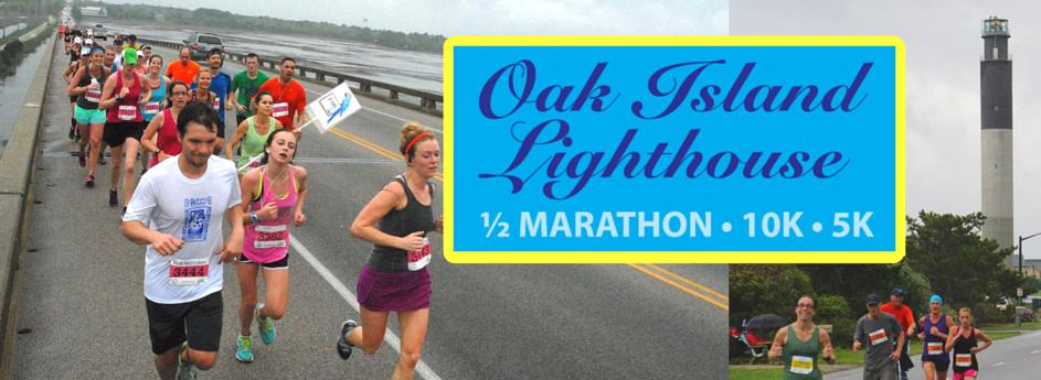 Oak Island Lighthouse Half Marathon/10K/5K, April 16, 2016
