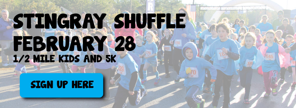 Stingray Shuffle 5K and 1/2 Mile Kids Run, February 28, 2015