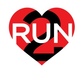 new luv 2 run logo