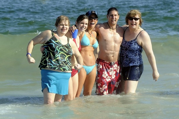 People in ocean