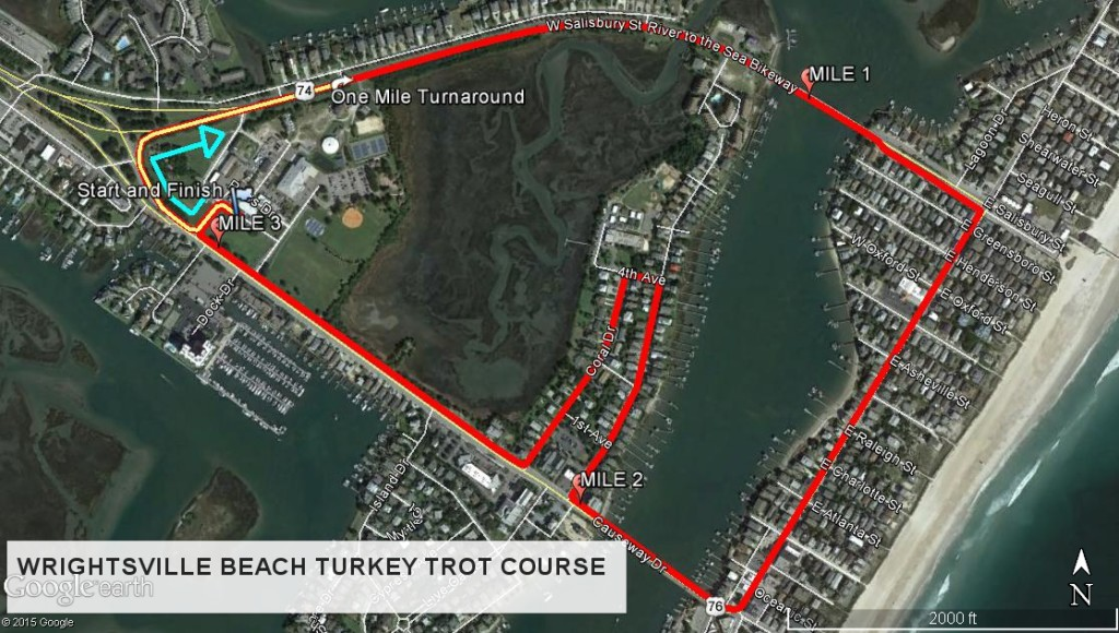 WB TURKEY TROT COURSE