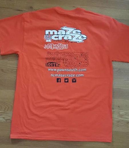maze craze t-shirt