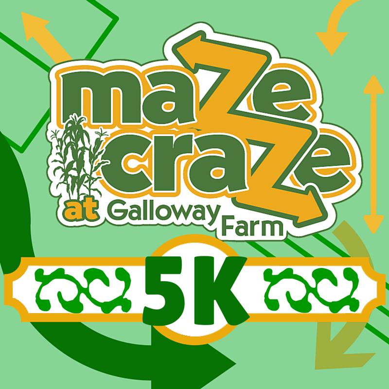 Maze Craze 5K logo