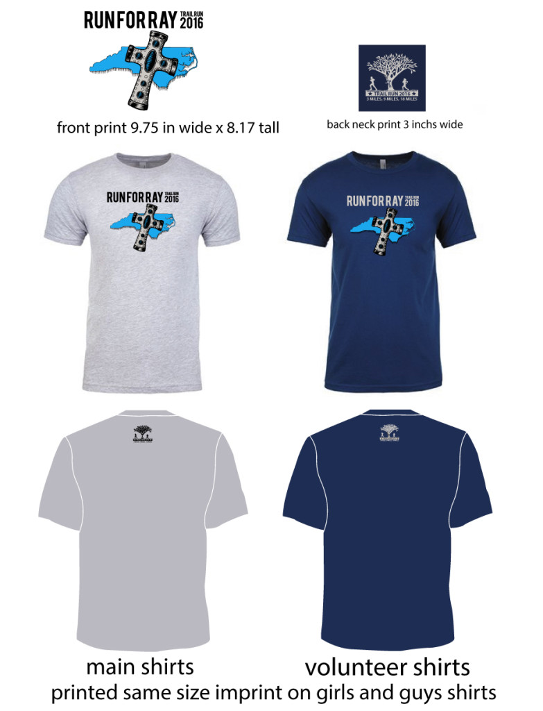 run for ray shirts