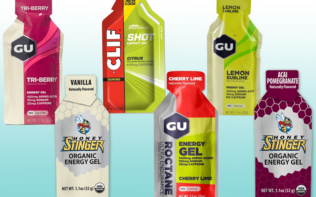 Our Favorite Energy Gels